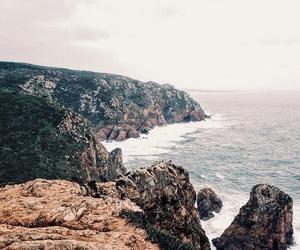 cliffs, green, and lisbon image