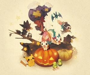 pokemon and Halloween image