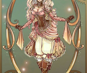 steampunk and cute image