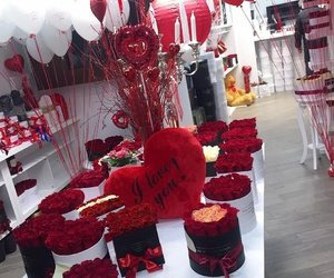 amazing, fashion, and red roses image