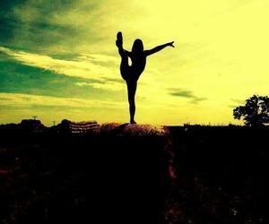 dance, fitness, and gymnastic image