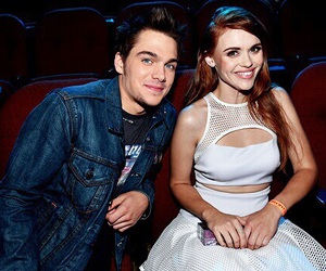 holland roden, teen wolf, and dylan sprayberry image