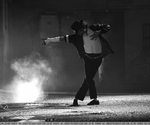 michael jackson, dance, and black or white image