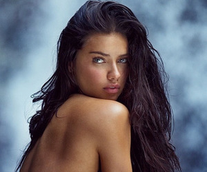 Adriana Lima, model, and swim image