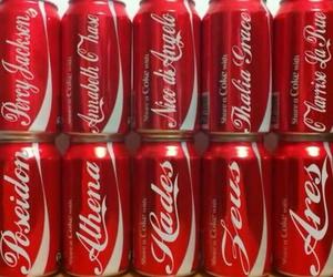 coke, cola, and percy jackson image