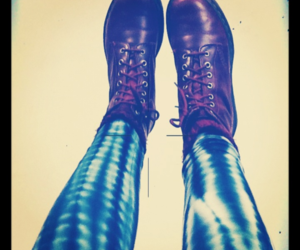 legs, red, and drmartens image