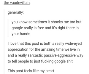 funny, google, and sarcasm image