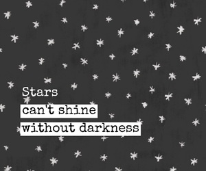 easel, quotes, and stars image