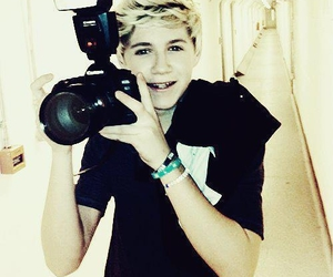 blond, niall horan, and one direction image