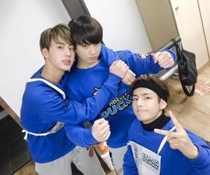 jin, v, and k-pop image