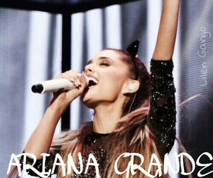 microphone and ariana grande image