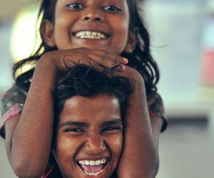 kids and smile image
