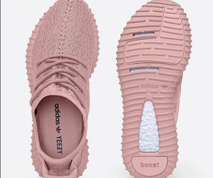 shoes, yeezy, and pink image