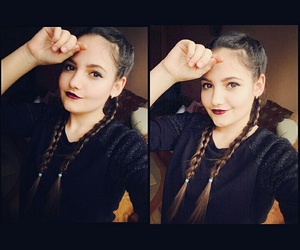 beautiful, hair, and romania image