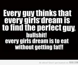 girl, Dream, and funny image