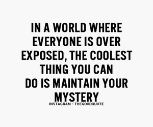 quotes, mystery, and cool image