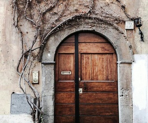 door, italia, and italie image