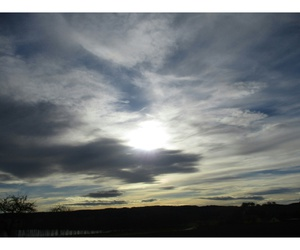 depression, nature, and sky image
