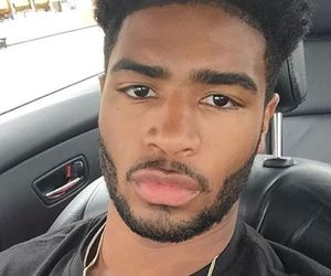 black, boy, and lips image