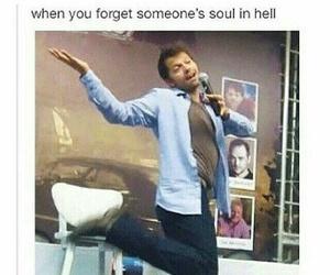 supernatural, castiel, and fandom image