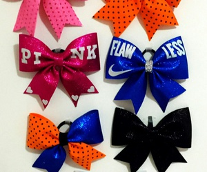 bow, cheer, and cheerleading image
