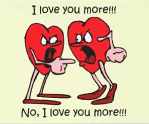 heart and funny image