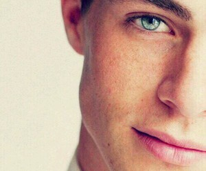 blue eyes, ♥, and colton haynes image