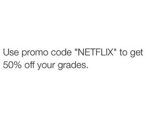 funny, quote, and netflix image