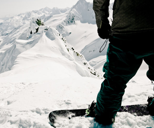 snow and snowboard image