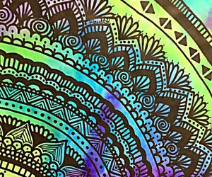 art, zentangle, and colores image