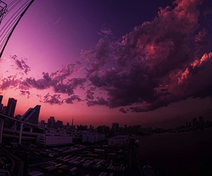 sky, city, and photography image