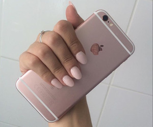 iphone, iphone 6s, and pink image