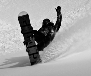 snowboard and winter image