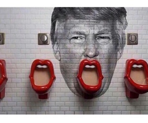 trump, art, and funny image