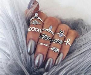 cool, nail art, and oje image