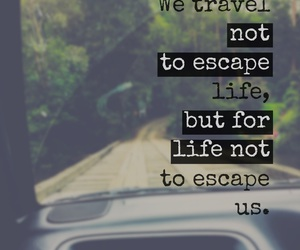 escape, life, and travel image