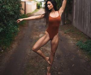 fashion, pretty, and fit image