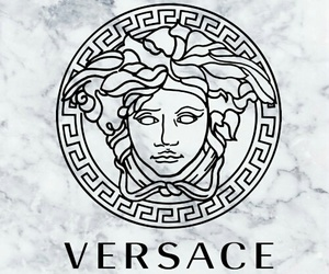 Versace, layout, and Paper image
