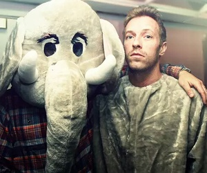 coldplay, paradise, and elephant image