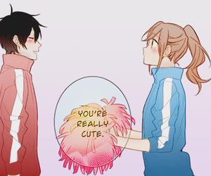 manga, horimiya, and cute image