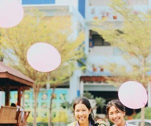 balloon, forever, and pastel image