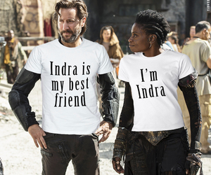 the 100, marcus kane, and indra image