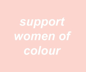pink, pleasing, and woc image