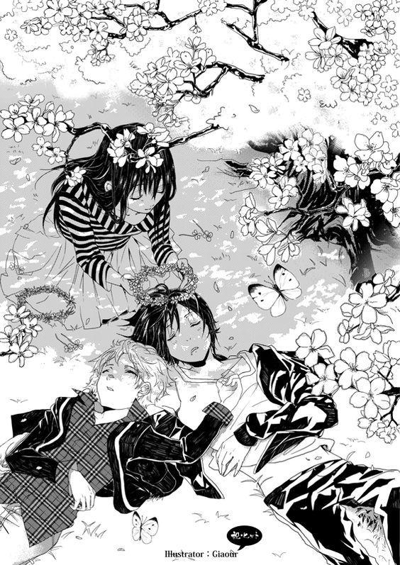 Hiyori Yukine Yato Noragami Anime Manga