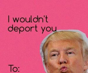 lol, trump, and valentine image