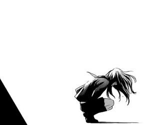 anime, manga, and sad image