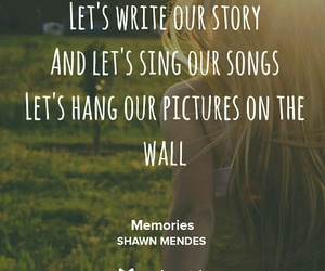 memories, music, and shawn image