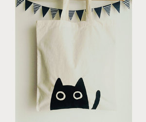 bag, cats, and diy image