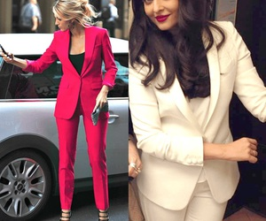 blazer, business, and fashion image