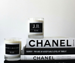 chanel, book, and candle image